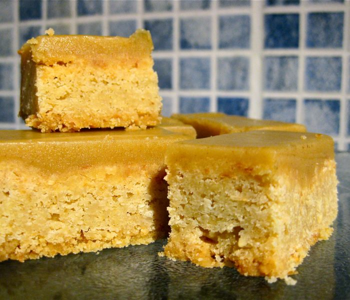 Coconut and Ginger Slice