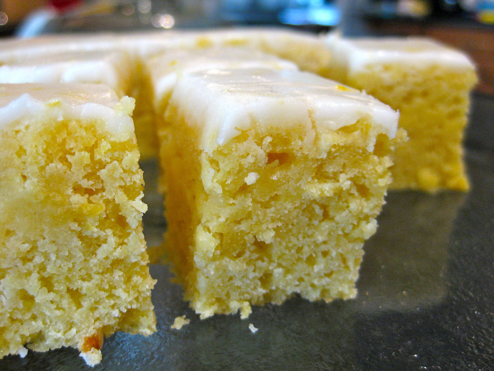 lemon blondies, feedingtimeblog