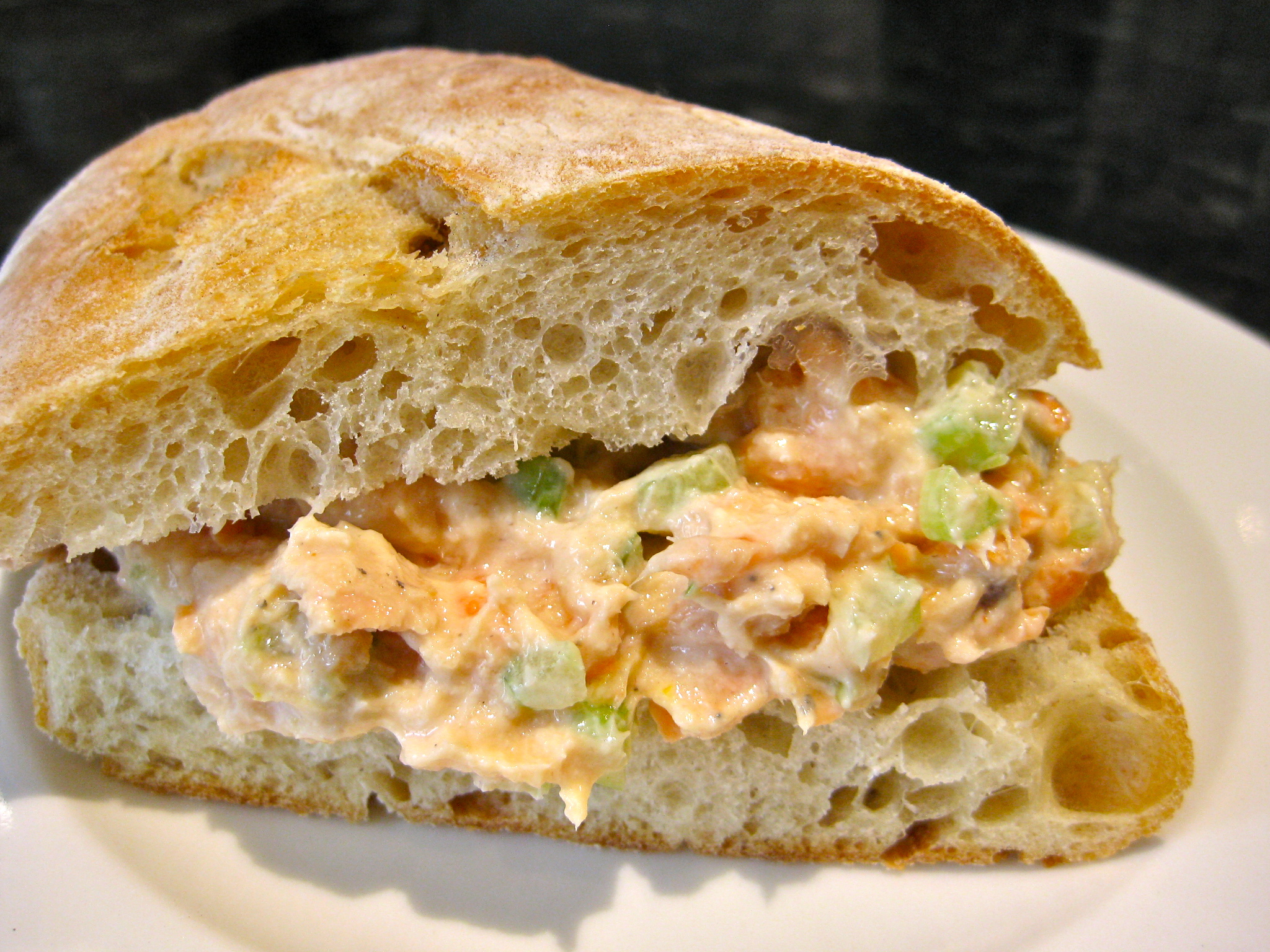 Summer Salmon Sandwich