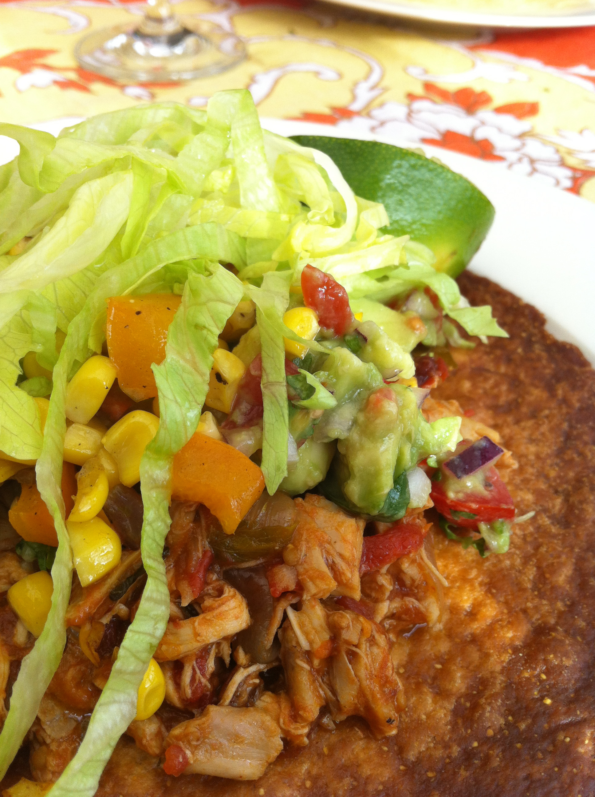 chicken tinga @feedingtimeblog