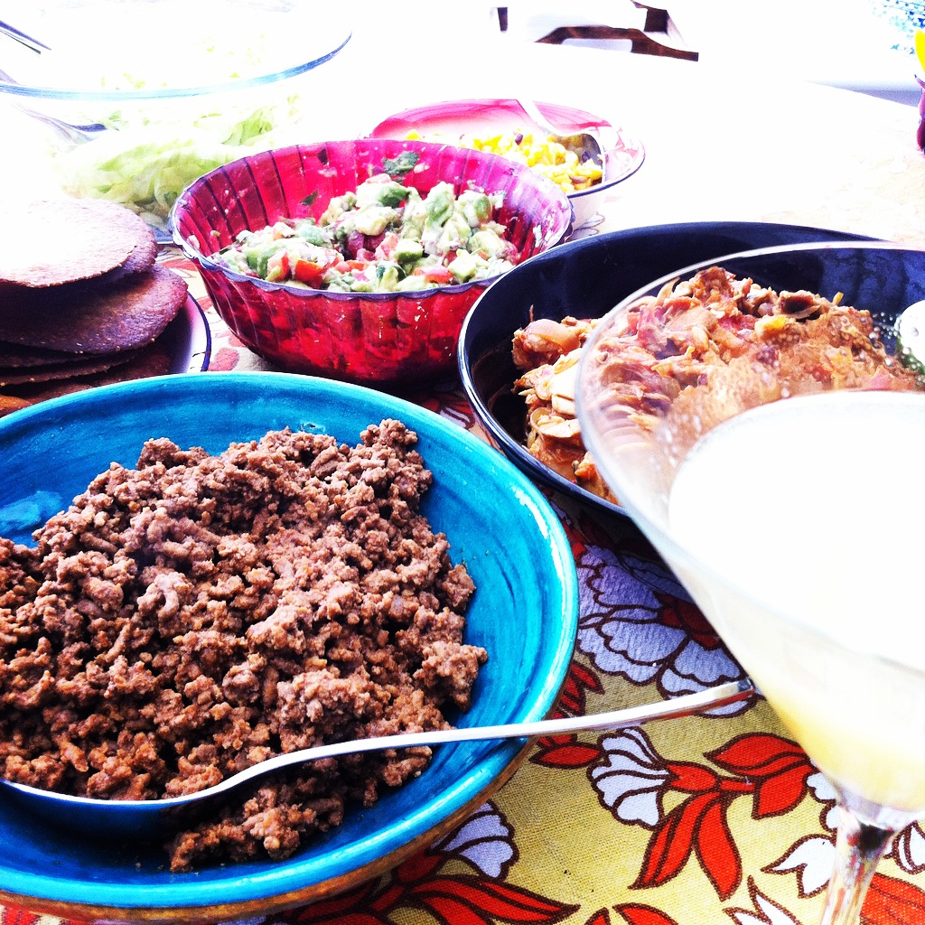 Mexican feast @feedingtimeblog