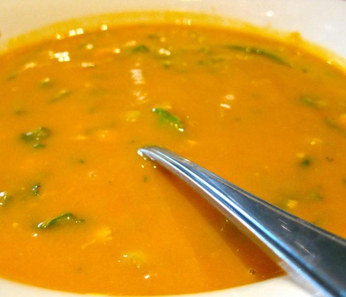 Glowing Butternut Squash Soup