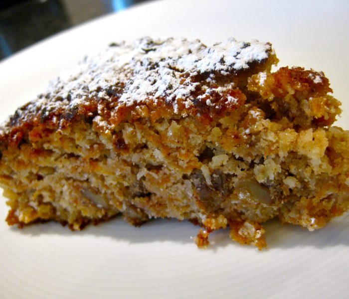 Flourless Carrot and Walnut Cake