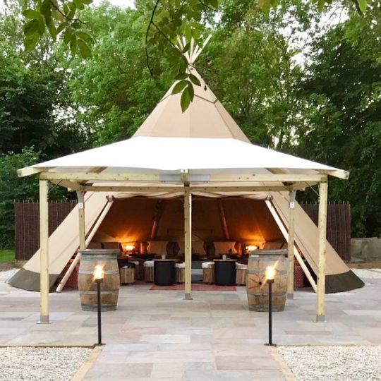 The Royal Oak Teepee: Marlow