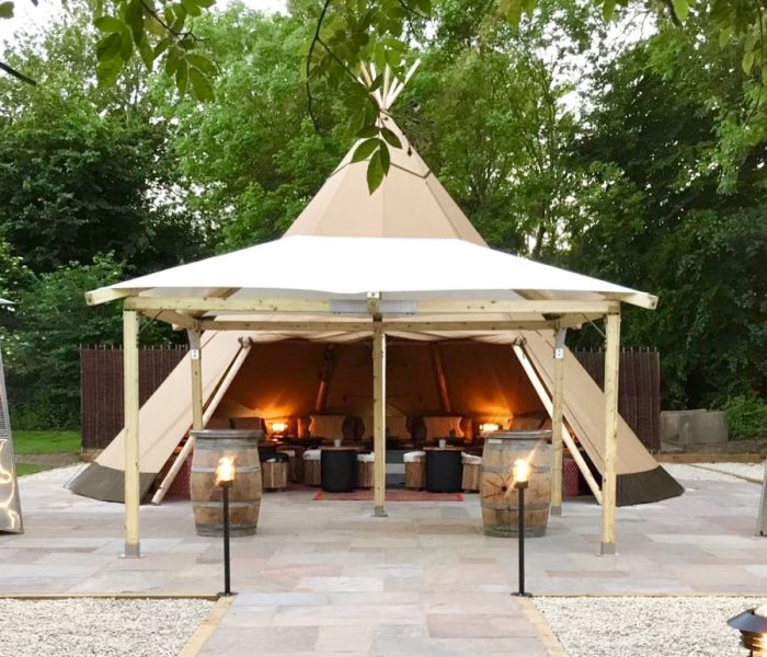The Royal Oak Teepee: Marlow